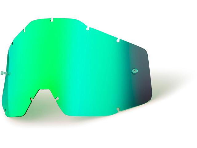 100% Replacement Lenzen Jongeren, green / mirror
